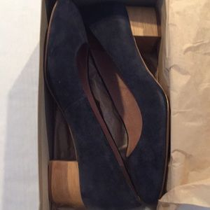 Madewell women's low heel pumps size 10